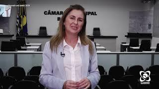 Alessandra Lucchesi homenageia lotéricos e quitanda e espera benfeitorias em prédios públicos