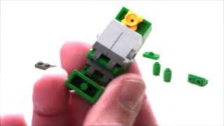 tUTORIAL - Lego Transformers MINICON  / MINI SPY Tank by BWTMT Brickworks