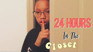 24 HOURS IN MY CLOSET! (I WENT CRAZY)