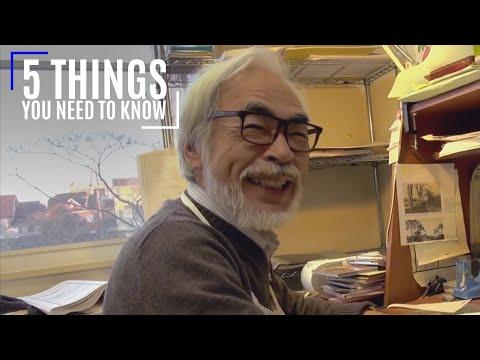 Hayao Miyazaki: 5 Things You Need To Know