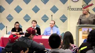 Question & Answer Session about College, College EDge 2011, Yeshiva University