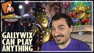 GALLYWIX CAN PLAY ANYTHING! - Hearthstone Battlegrounds