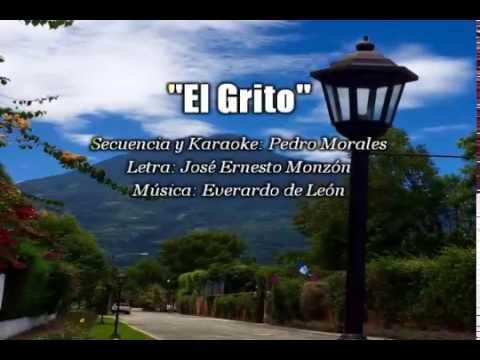 """""""El Grito"""" Karaoke instrumental  (Yo soy puro guatemalteco)"""