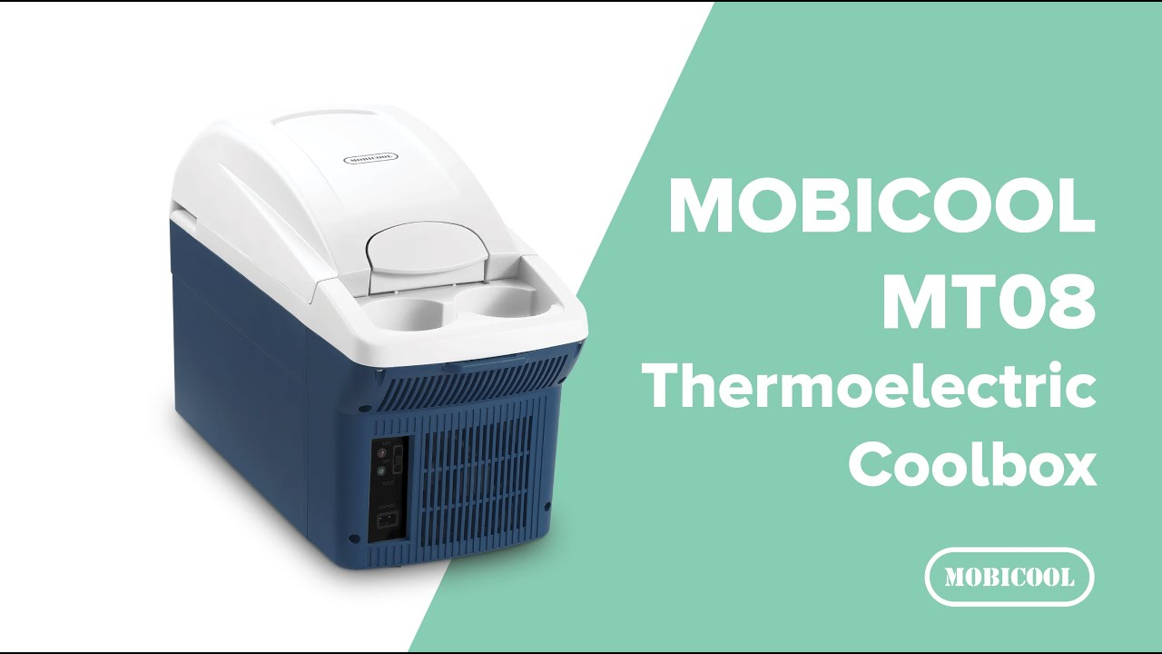 8 L Thermoelectric Travel Coolbox and Warmer Mobicool MT08 DC Metallic Blue 12 V
