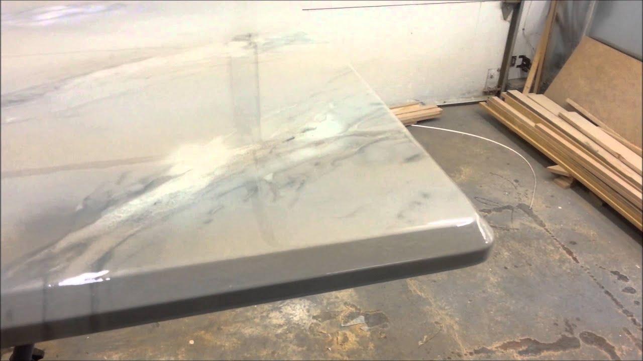 epoxy countertop comptoir epoxy fauxfini