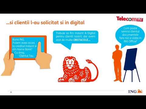 ING lanseaza primul credit instant digital din Romania