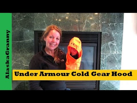 Under Armour Cold Gear Infrared Hood Product Review- Blaze Orange For Hunters