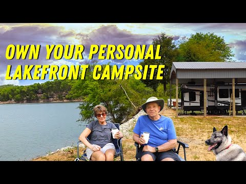 Own Your Personal Lakefront Campsite!