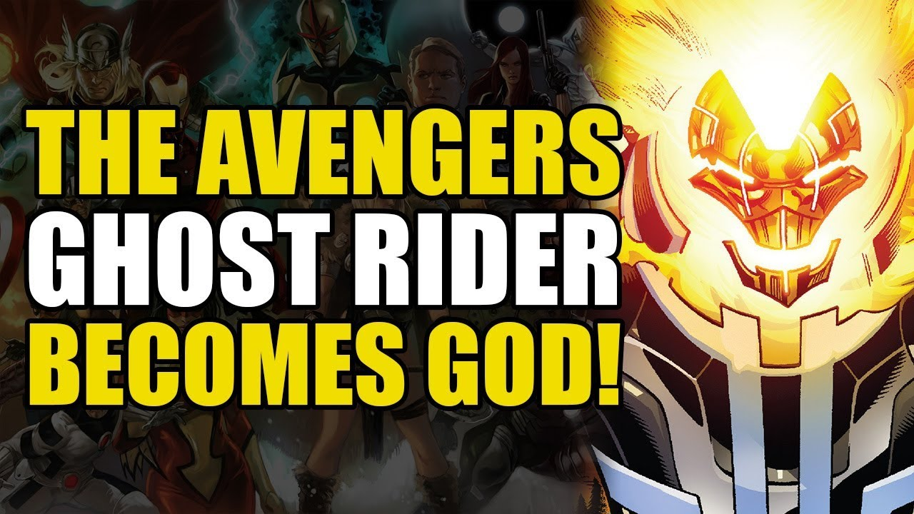 Iron Man's Godkiller Mk 2/Ghost Rider Becomes God (Avengers Vol 1: Final  Host)