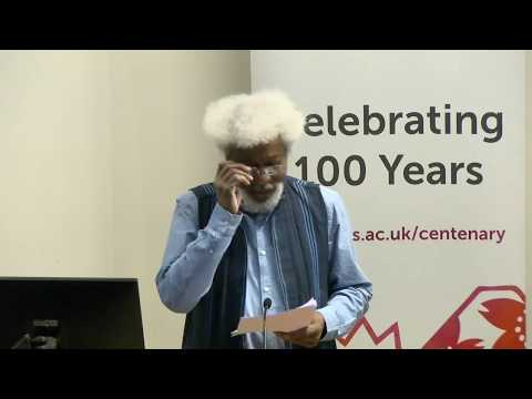 SOAS African Literatures Conference 2017, Introduction & Keynote, SOAS University of London