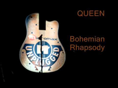Queen - Bohemian Rhapsody (MTV Unplugged Live & Acoustic)