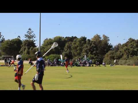 Under 18 lacrosse, Victoria v South Australia 2018, first half.