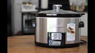 Cuisinart PSC-350 3-12-Quart Programmable Slow Cooker Review