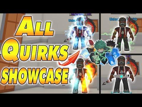 [CODE] ALL QUIRK'S Showcase Anime Fighting Simulator