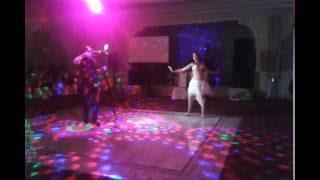 Рудович Юлия-танец на свадьбе в Смоленске для Евы Агафоновой и Вовы Болохова.