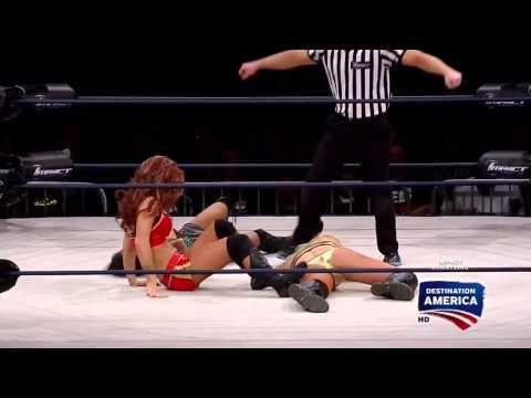 Impact Wrestling Taryn Terrell vs Gail Kim vs Madison Rayne