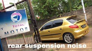 Review perbaikan suspensi belakang peugeot 206
