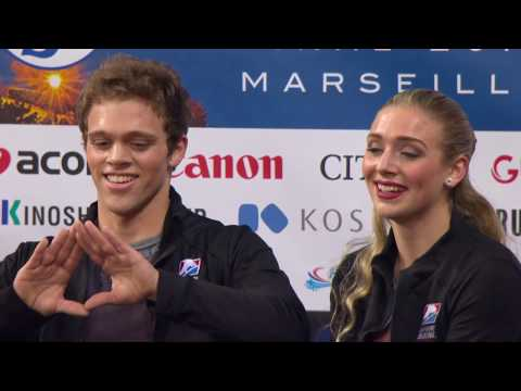 2016 ISU Junior Grand Prix Final - Marseille - Free Dance - Rachel PARSONS / Michael PARSONS USA