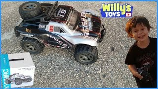 Vinciph Remote Control OFF ROAD TRUCK - RC Car Running Over Cereal Boxes - TOY REVIEW - Willy