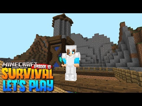 FARMS AND AUTOMATIC COOKER! - MCPE 1.1 Survival Let's Play EP.10 - Minecraft PE (Pocket Edition)