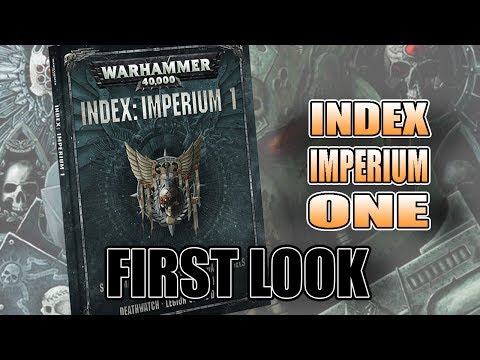 How Will Space Marines Work in 8th Edition 40k? Index Imperium I