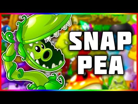 Plants Vs. Zombies 2: New Plant | Snap Pea