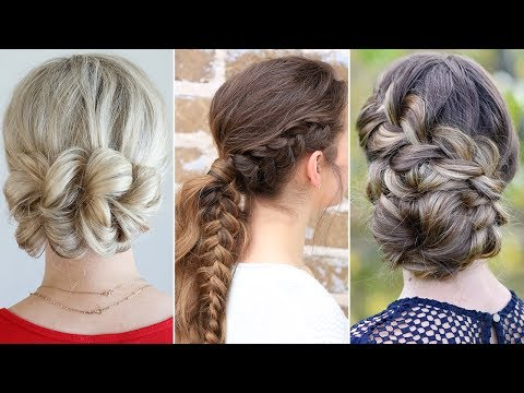 3 Easy UPDO Hairstyles For Prom