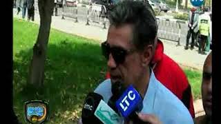 الغندور والجمهور   تشييع جنازة سمير زاهر .. تقرير محمد ساهر