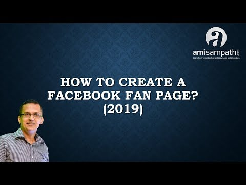 How To Create A Facebook Fan Page (2019)