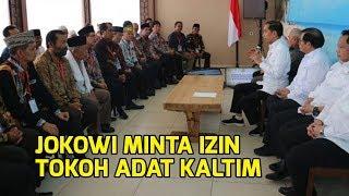 Download lagu Bangun Ibu Kota Baru, Jokowi Minta Izin Tokoh Adat Kaltim