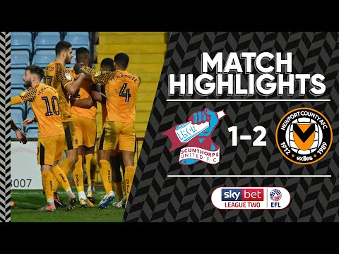 Scunthorpe Newport Goals And Highlights