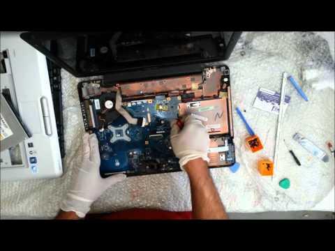 Toshiba Satellite Pro L450-180 - Sostituzione pasta termica - Disassembly
