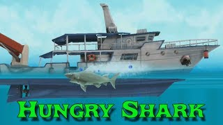 Проба игры Hungry Shark игра про акулу