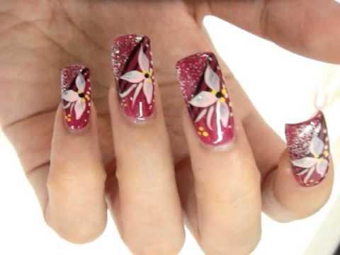 ANC Nails Training Basic Strokes - ANC Nails Training Basic Strokes - YouTube