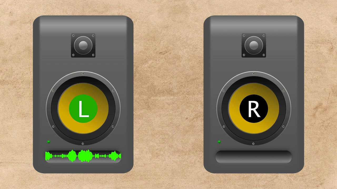 Left/Right Stereo Sound Test