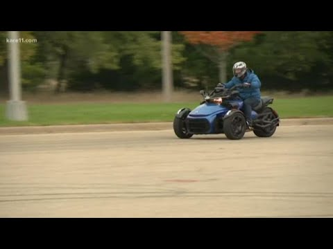 Learn to ride a 3-Wheel Motorcycle with Zalusky Riding School