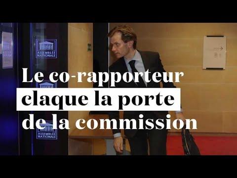 """""""L'Elysée souhaite-t-elle torpiller notre commission ?"""" Le co-rapporteur suspend sa participation"""