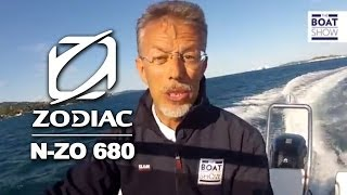 Zodiac N-ZO 680 Rigid Inflatable Boats (RIB) | The Boat Show TV | English