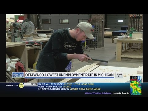 Ottawa County unemployment rate hits 15-year low