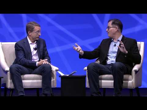 VMworld General Session 2017 - Q&A with Pat Gelsinger and Michael Dell