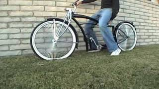 Lowrider Bike Bicycle Air hydraulic Suspension 26
