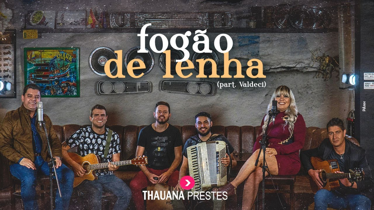 Thauana Prestes Part Valdeci Fogão De Lenha Cover Youtube