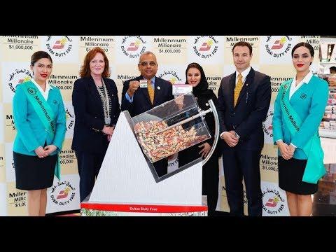 Indian Accountant Wins $ 1 Million In Dubai Duty Free Raffle