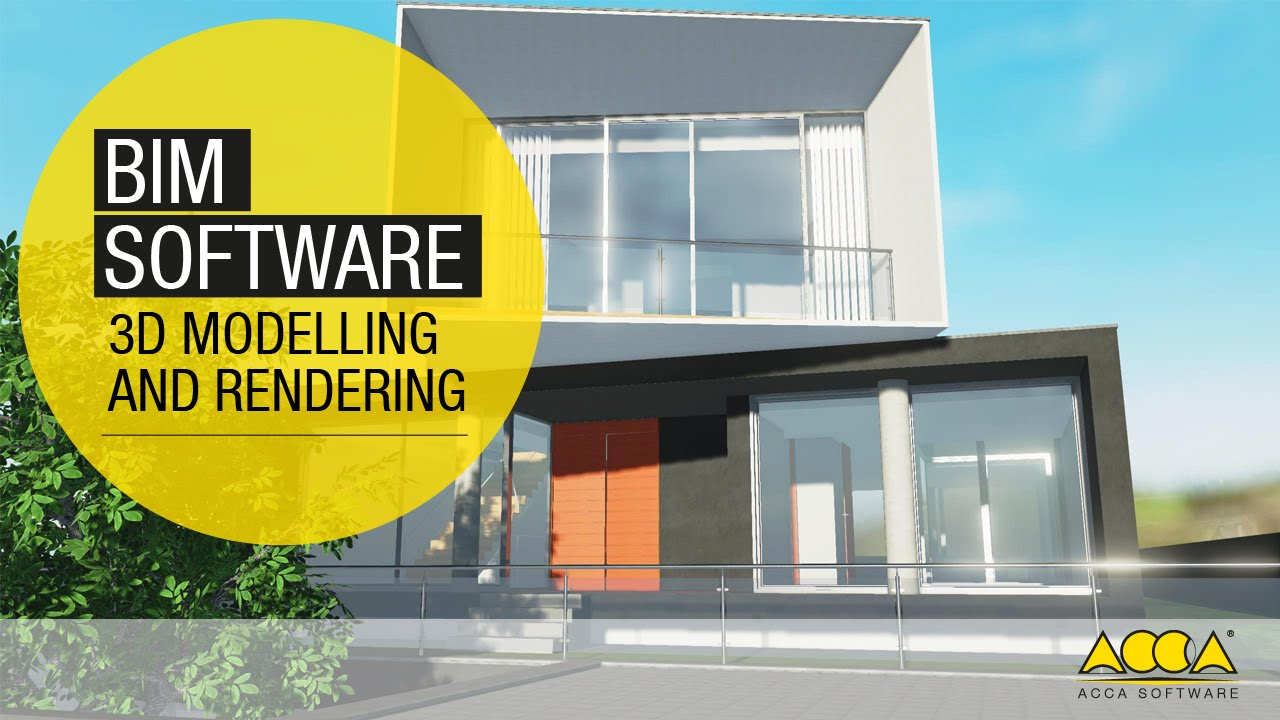 Bim software per la migliore progettazione architettonica for Software per rendering