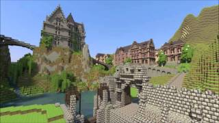 top5 biggest houses in minecraft