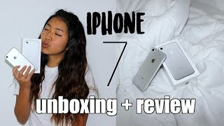 iPhone 7 unboxing + review!