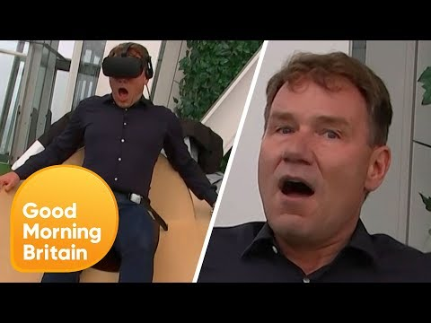 Reporter Left Terrified by Virtual Reality Simulator! | Good Morning Britain Mp3