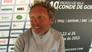 Vasco Vascotto Felicita por su aniversario al Trofeo de Vela Conde de Godó