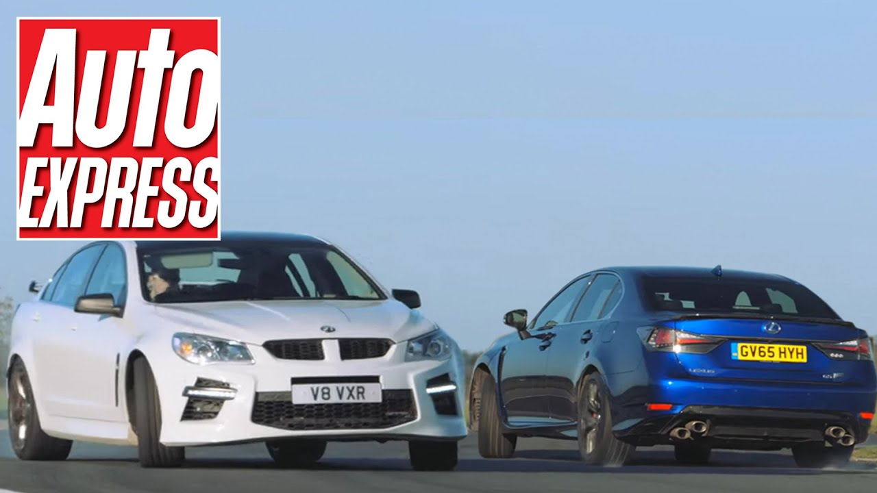 small resolution of lexus gs f vs vauxhall vxr8 mighty v8 saloon track battle