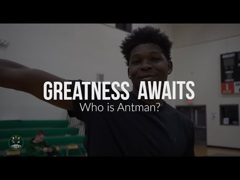 GREATNESS AWAITS  EPISODE 1  WHO IS ANTMAN ft. Anthony Edwards  Top Sophomore in GA